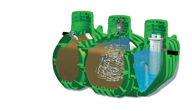 In-Ground Nitrogen- Reducing Biofilter System!